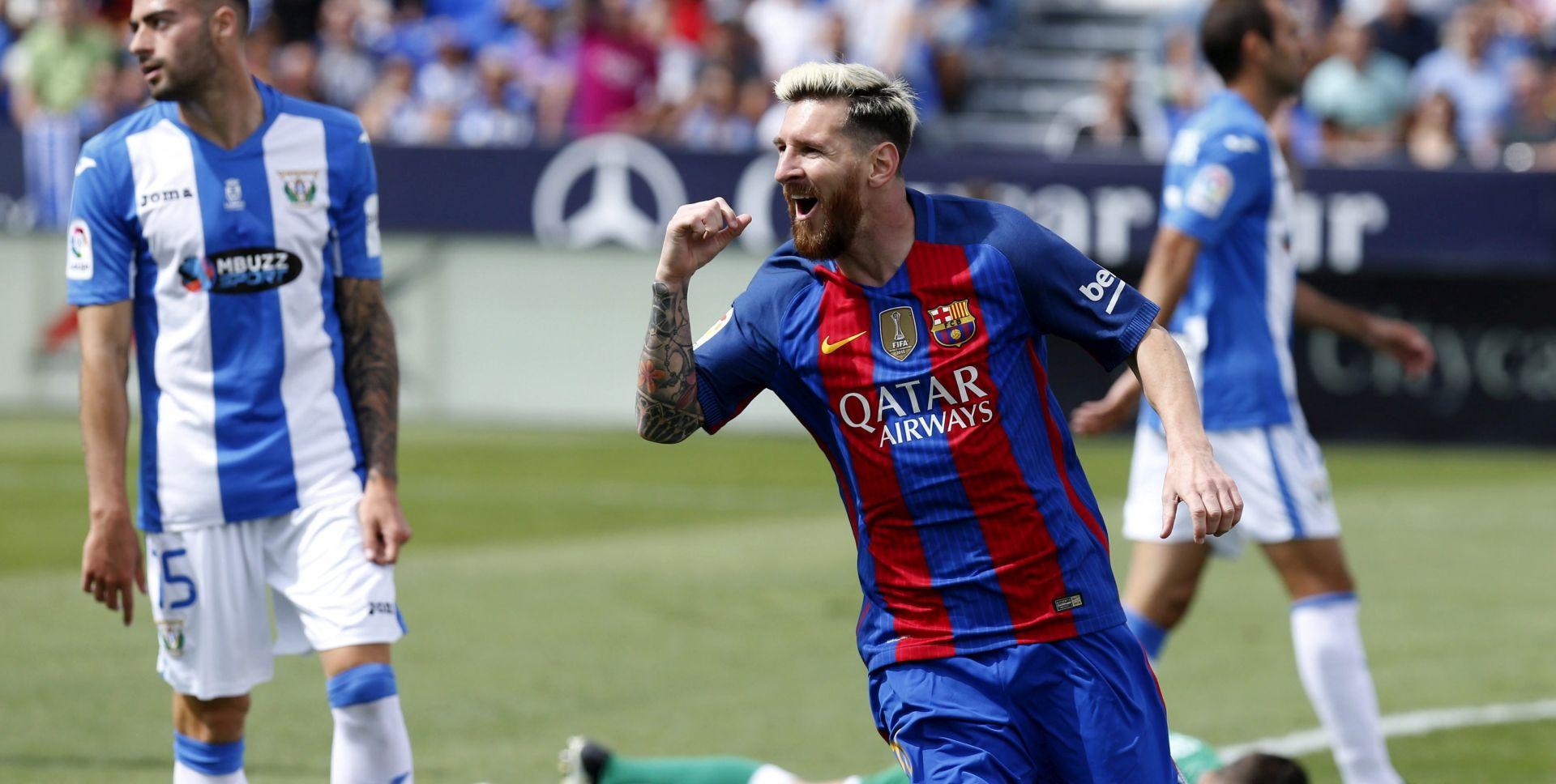 PRIMERA 'Petica' Barcelone protiv Leganesa, Messi dvostruki strijelac