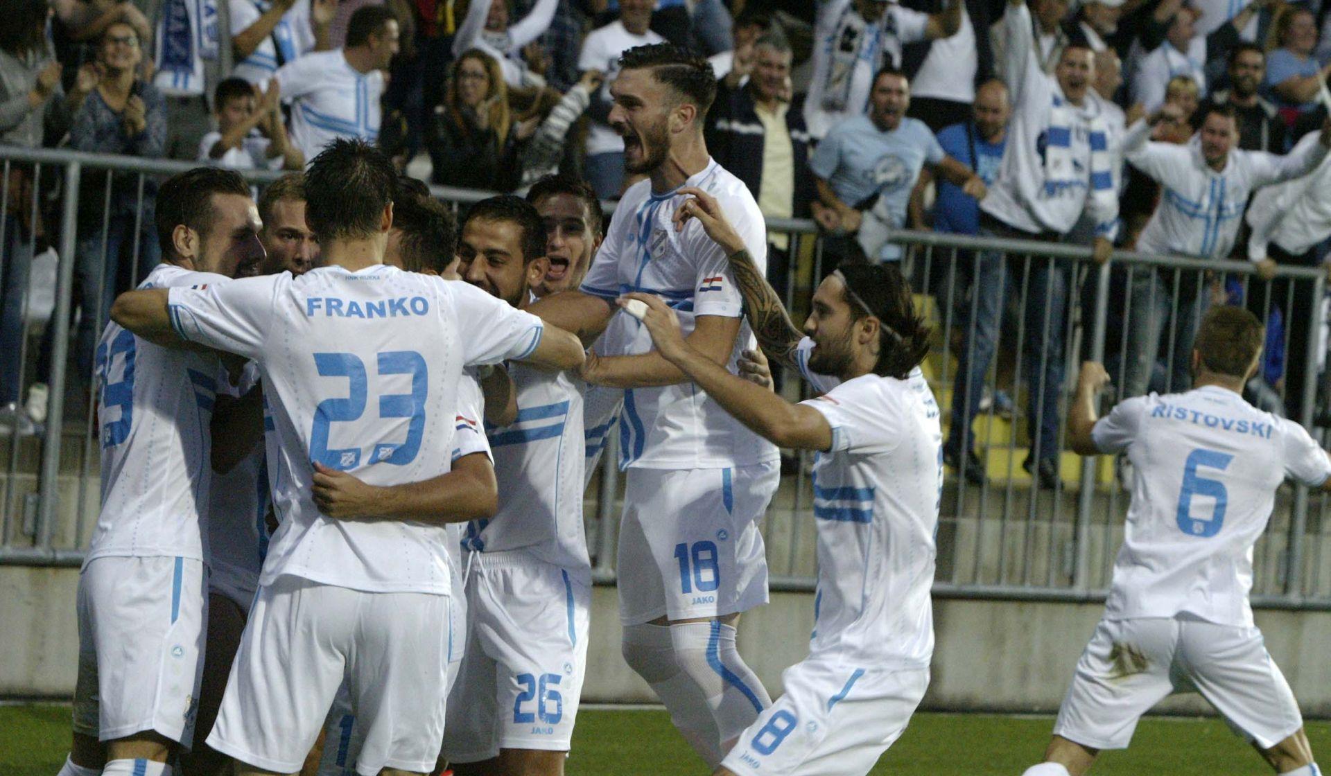 HNL: Uvjerljiva Rijeka, Hajduk preokretom do bodova