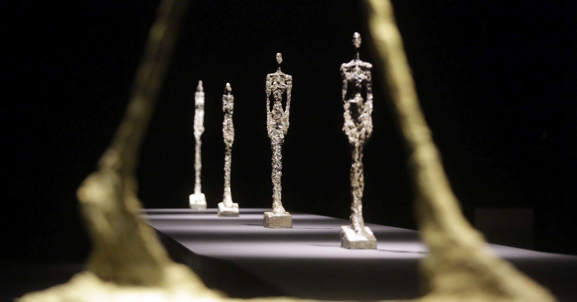 Izložba Alberta Giacomettija otvara se sutra u Umjetničkom paviljonu