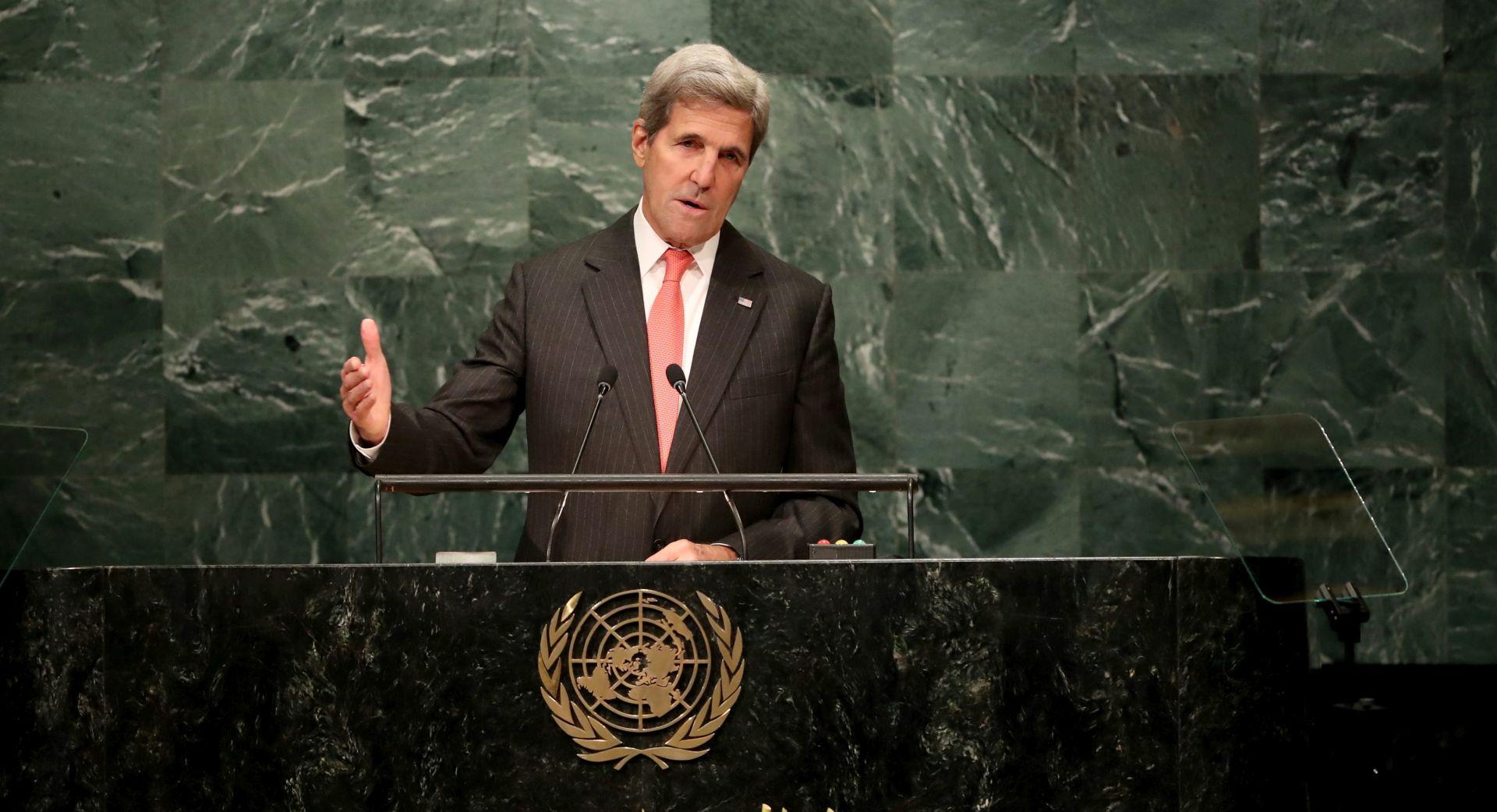 ŽELI SAČUVATI PRIMIRJE Kerry zatražio prizemljenje svih aviona u Siriji