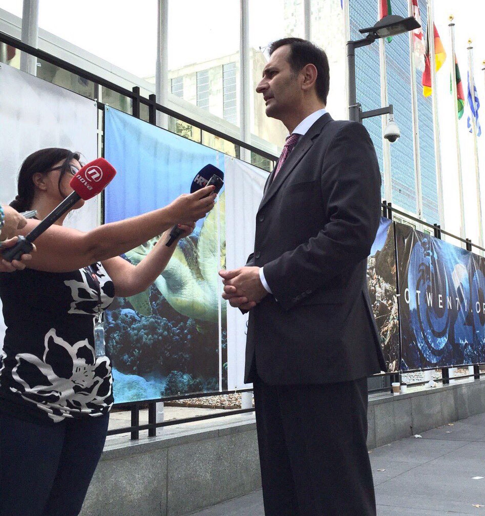 Miro Kovač na Općoj skupštini UN-a