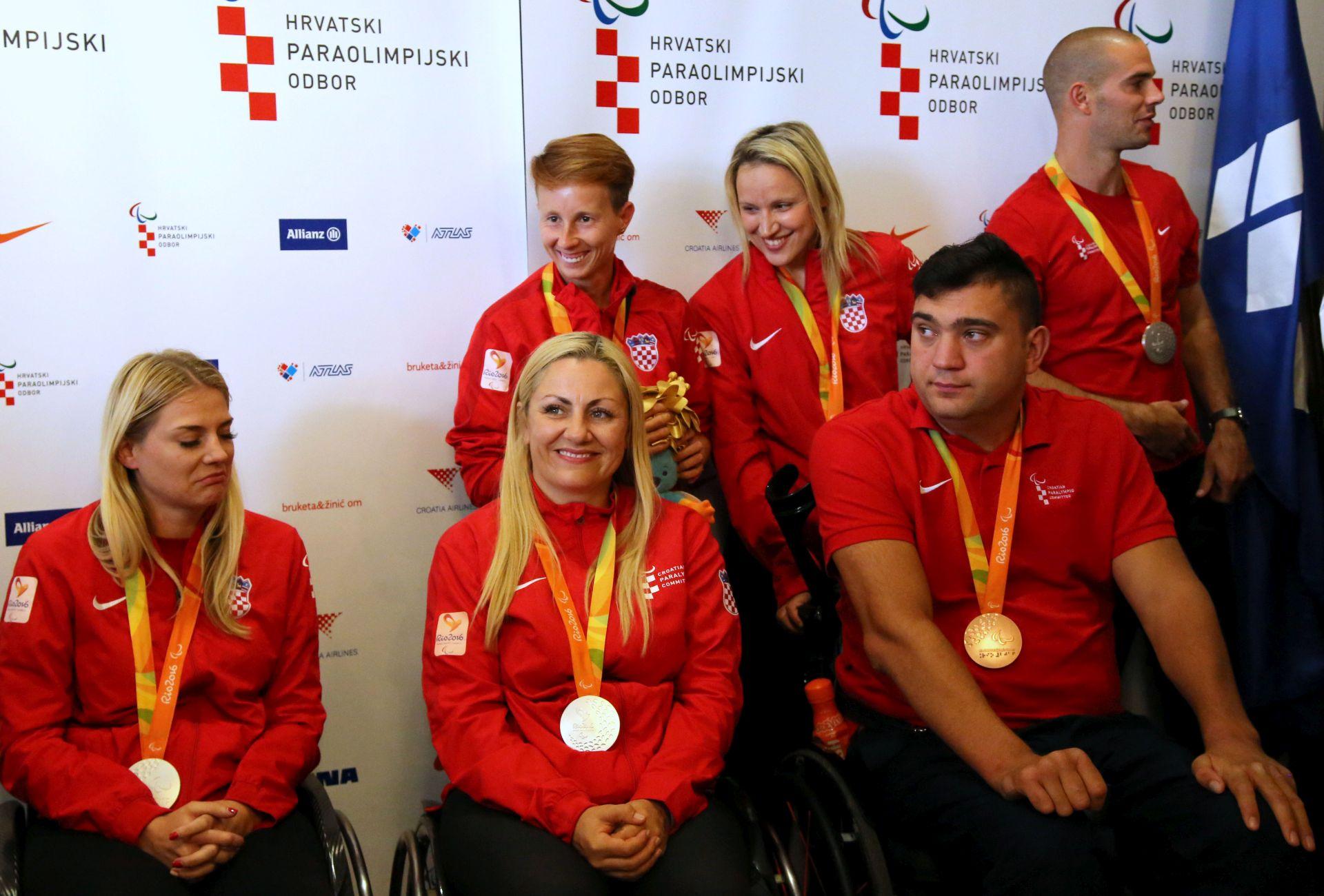Hrvatska paraolimpijska reprezentacija se vratila iz Rio de Janeira