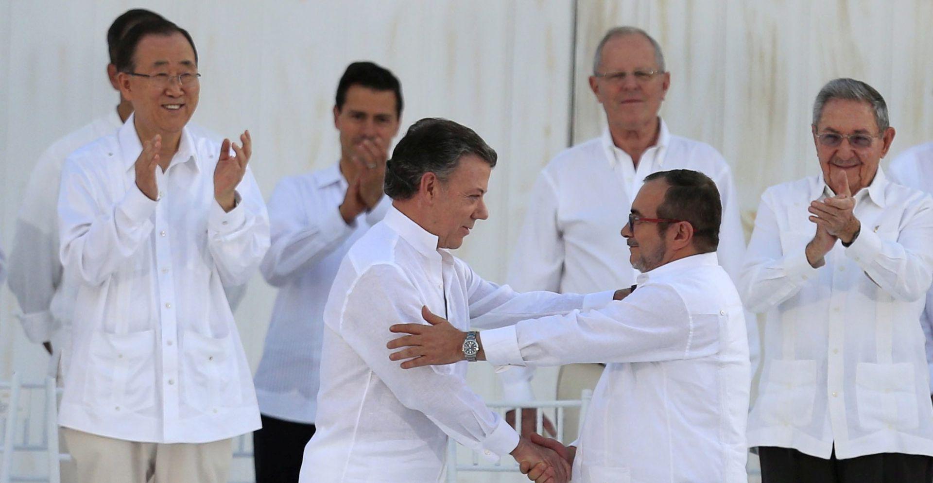 Potpisan povijesni mirovni sporazum u Kolumbiji