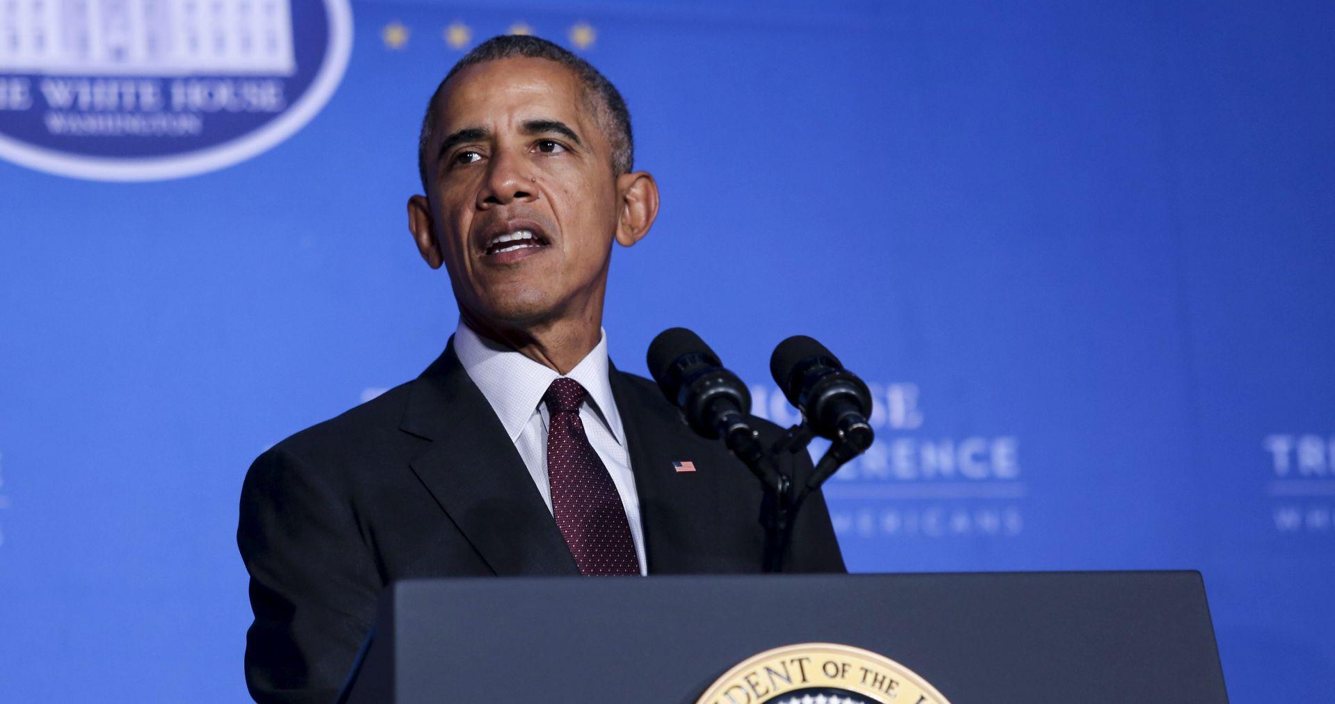 """Obama pozdravio """"povijesni dan"""" za sporazum o klimatskim promjenama"""