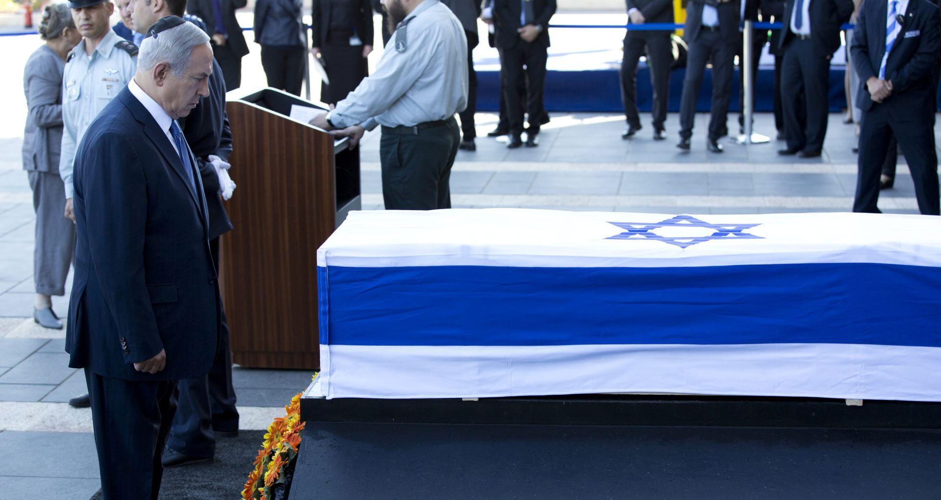 Izrael počeo odavati posljednju počast Peresu