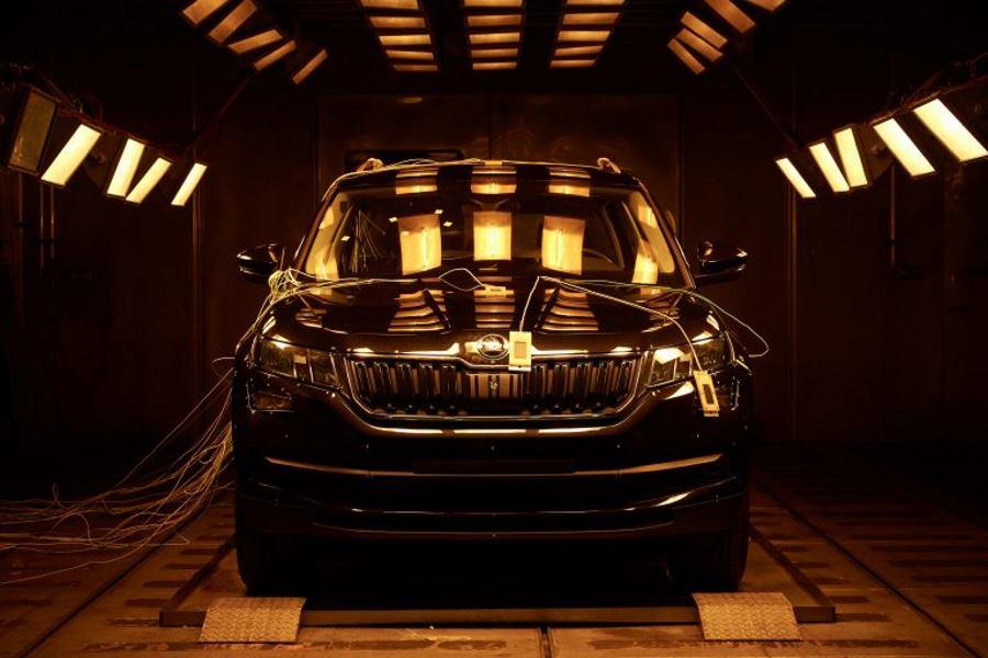Novi Škodin SUV model ispitan je u testu pri temperaturama postrojenje za klimatske do plus 90 stupnjeva Celzija