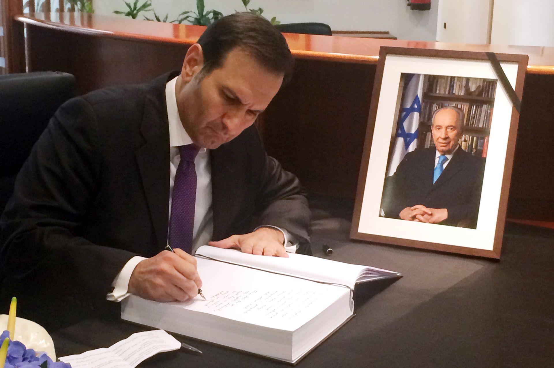 MINISTAR KOVAČ: Hrvatska će Peresa pamtiti kao prijatelja