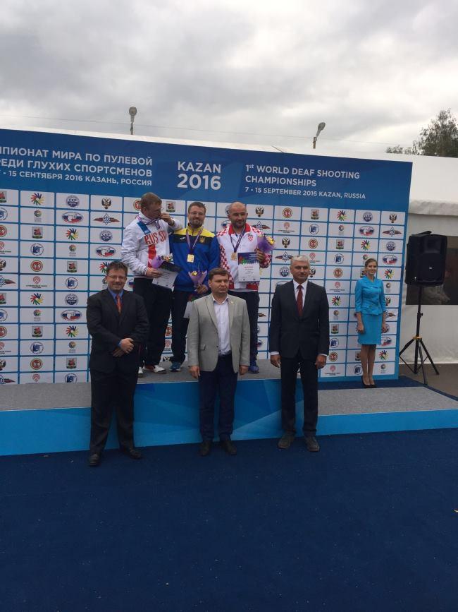Boris Gramnjak osvojio je brončanu medalju u disciplini 50 metara pištolj