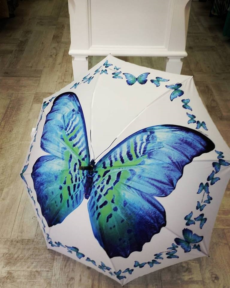Hippy Garden Butterfly umbrella