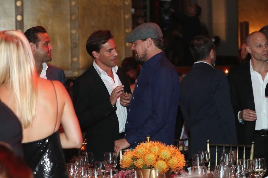Na humanitarnoj večeri bio je prisutan i Leonardo Di Caprio