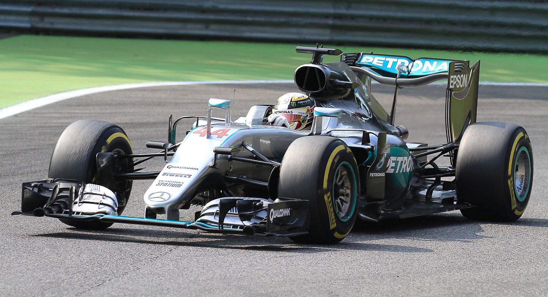 F1 Hamiltonu kvalifikacije VN Španjolske