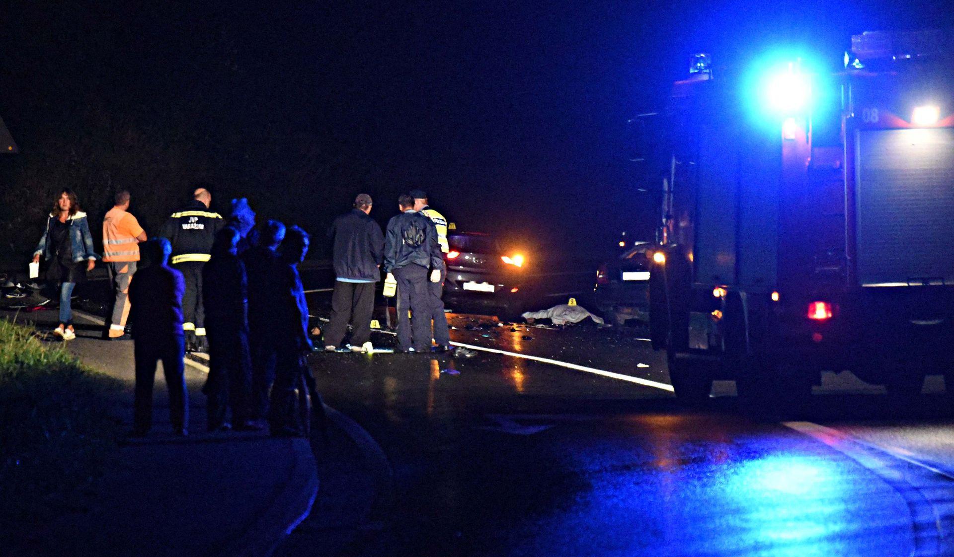 TEŠKA PROMETNA NESREĆA KOD VARAŽDINA Sudar dva automobila i dva motocikla, troje poginulih