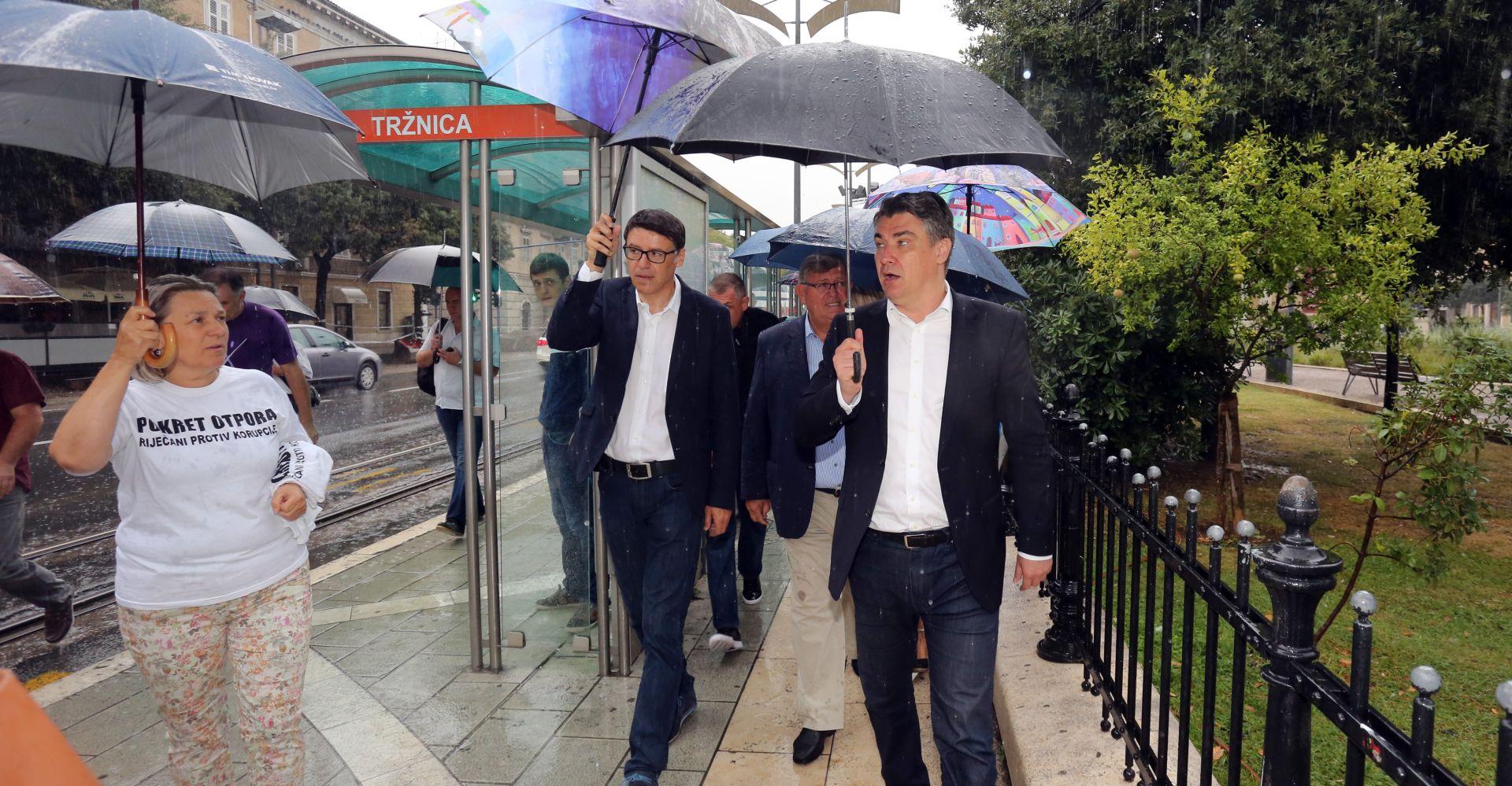 NARODNA KOALICIJA U RIJECI Aktivist 'Pokreta otpora' nasrnuo na Jovanovića
