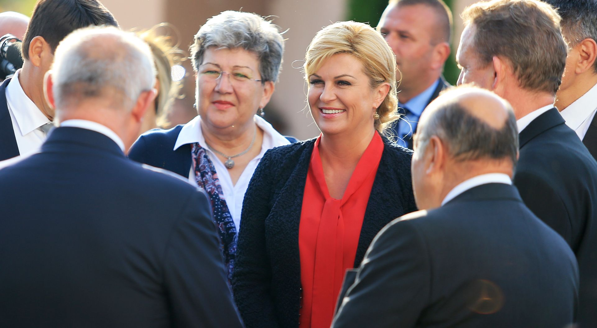 Grabar-Kitarović na Hvaru: Od nove Vlade očekujem da prioritet da oživljavanju otoka