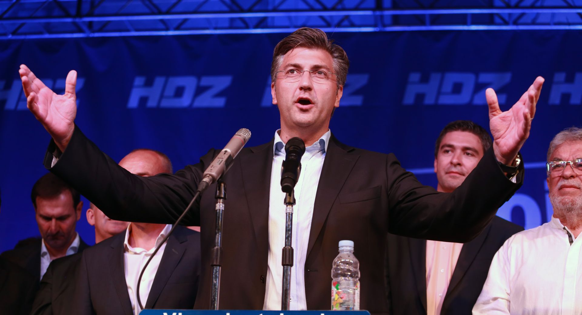 ZAVRŠNI SKUP HDZ-a Plenković: Nakon parlamentarnih izbora neće biti političkih eksperimenata