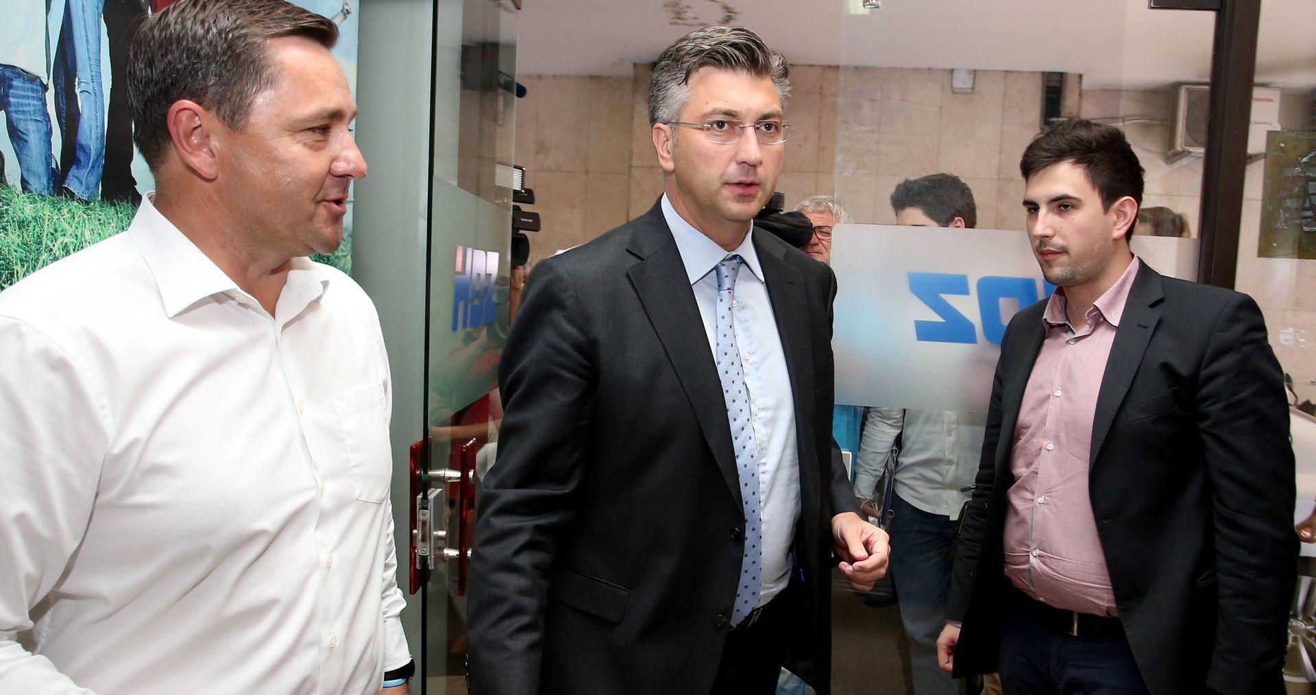 Plenković: Počinju razgovori s Mostom i drugim strankama