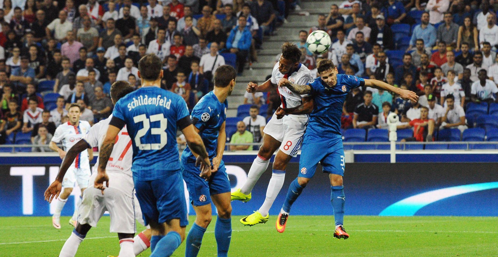 UŽIVO: LIGA PRVAKA Dinamo sa 3:0 poražen u Lyonu