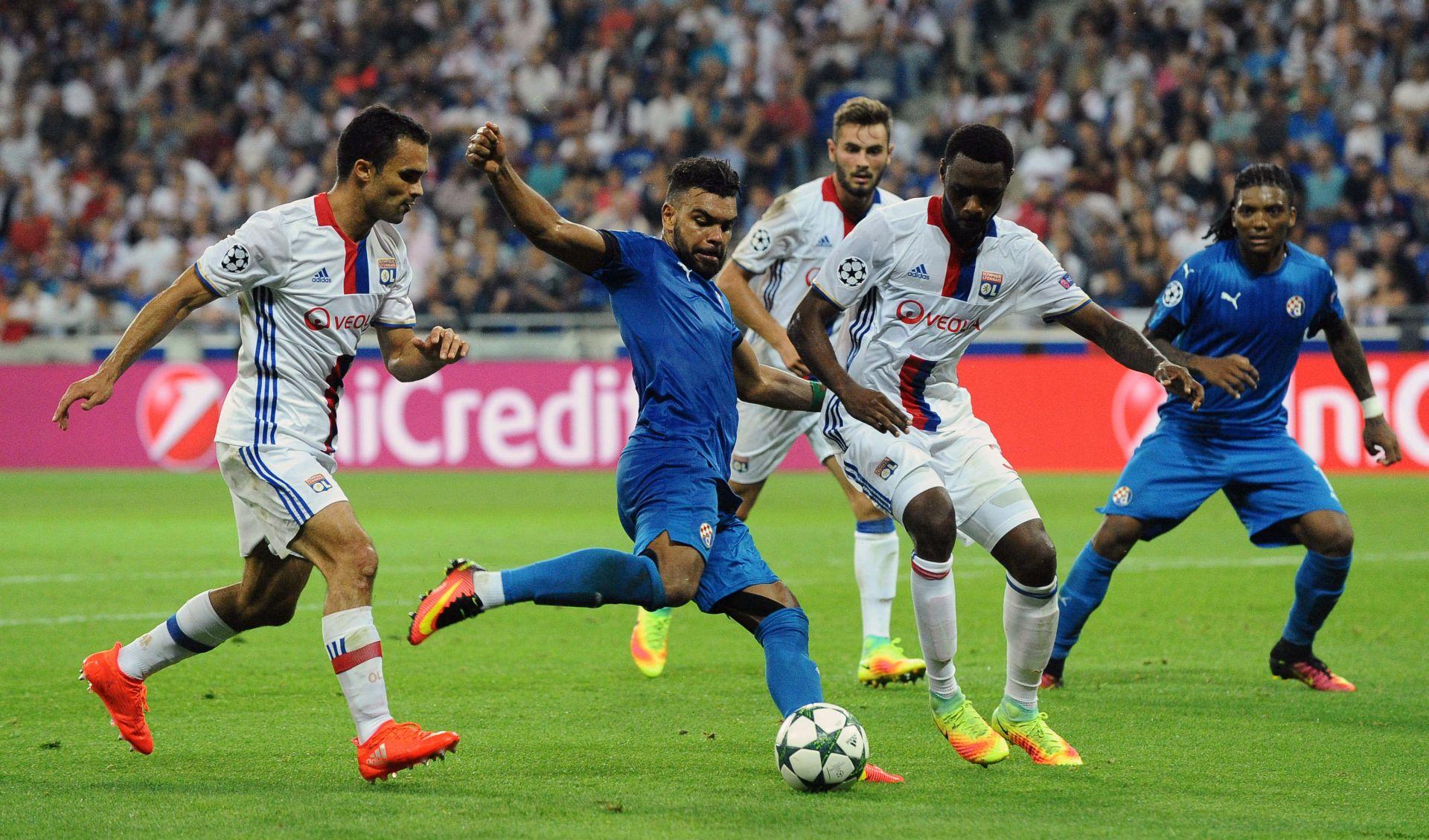 LIGA PRVAKA Dinamo poražen u Lyonu, Šemper debitirao u LP