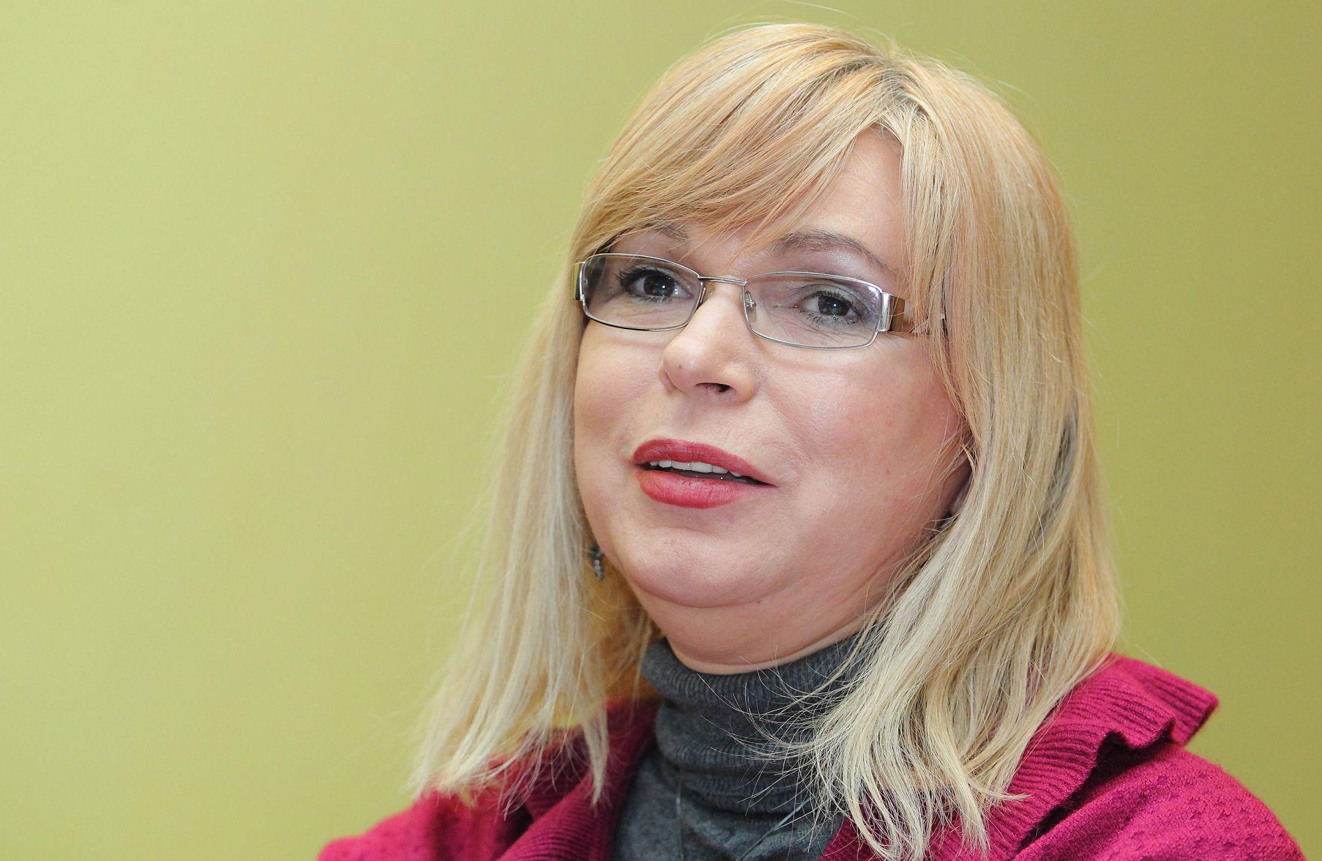 """BROJ SVE VEĆI Vesna Škulić: """"Kandidirala bih se za predsjednicu SDP-a"""""""