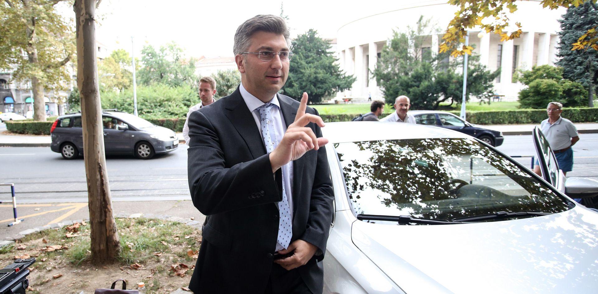 """POČINJE DRUGA RUNDA PREGOVORA Plenković: """"Ne raspravljamo o kadrovskim pitanjima"""""""