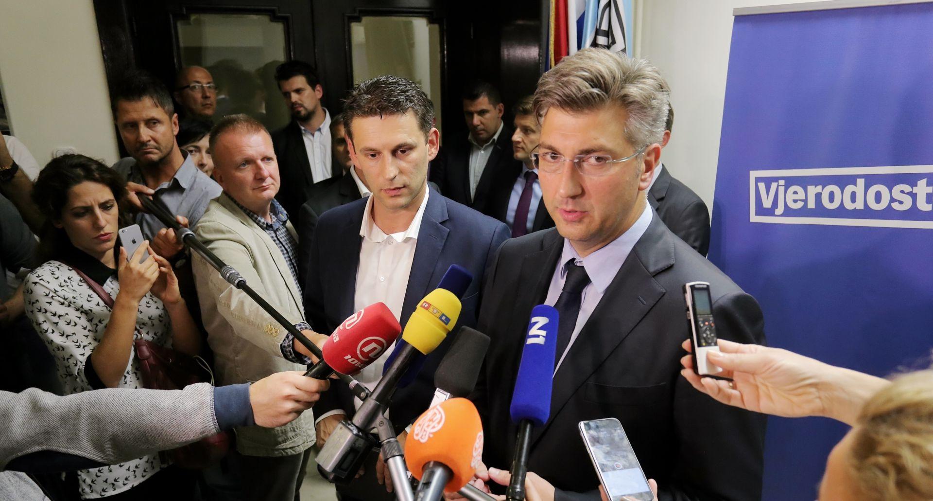 Plenković: Očekujem napredak pregovora s Mostom
