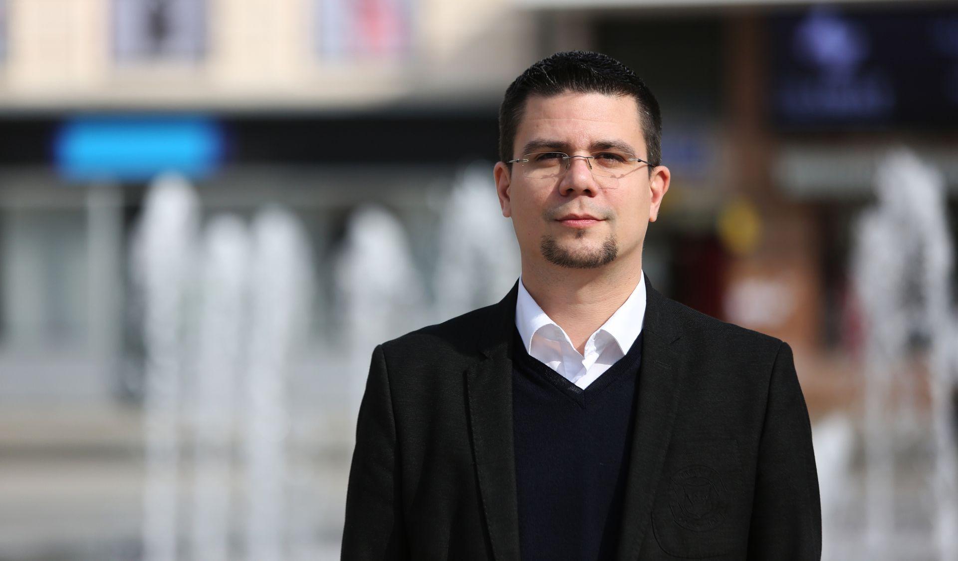 TREĆI KANDIDAT Domagoj Hajduković potvrdio kandidaturu za predsjednika SDP-a