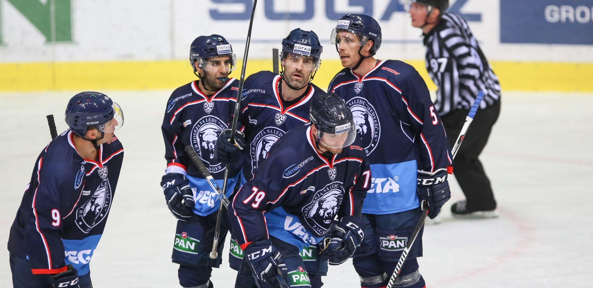 KHL: Pobjeda Medveščaka protiv Metalurga