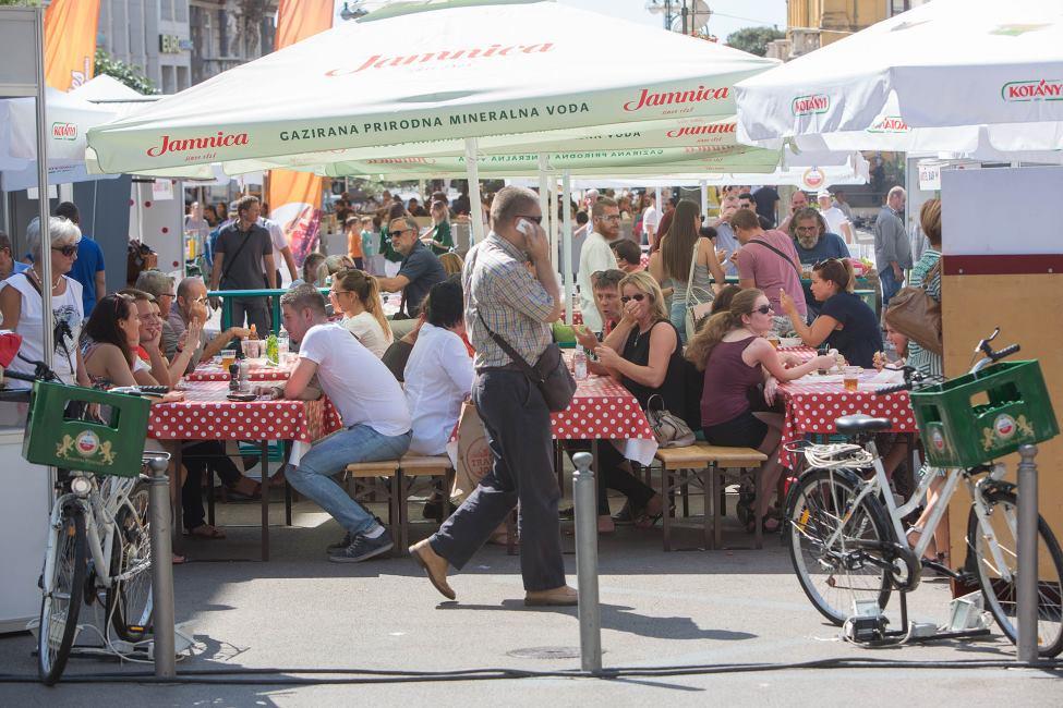 Rijeka Food Festival održao se ovaj vikend na Riječkom Korzu