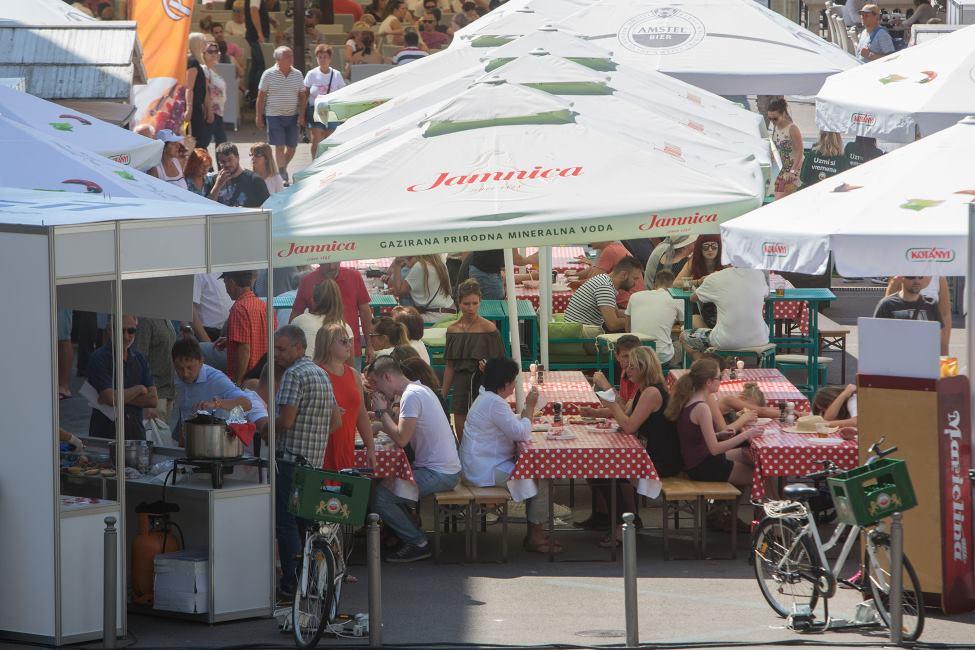 02.09.2016. Rijeka - Food Festival Rijeka odzava se za vikend na Rijeckom Korzu. Photo: Nel Pavletic/PIXSELL