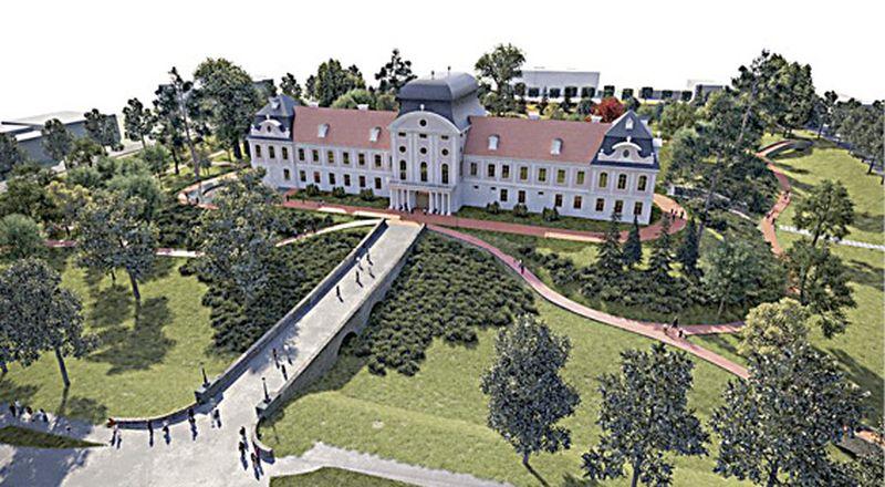 Deset milijuna eura za obnovu i uređenje Dvorca Pejačević