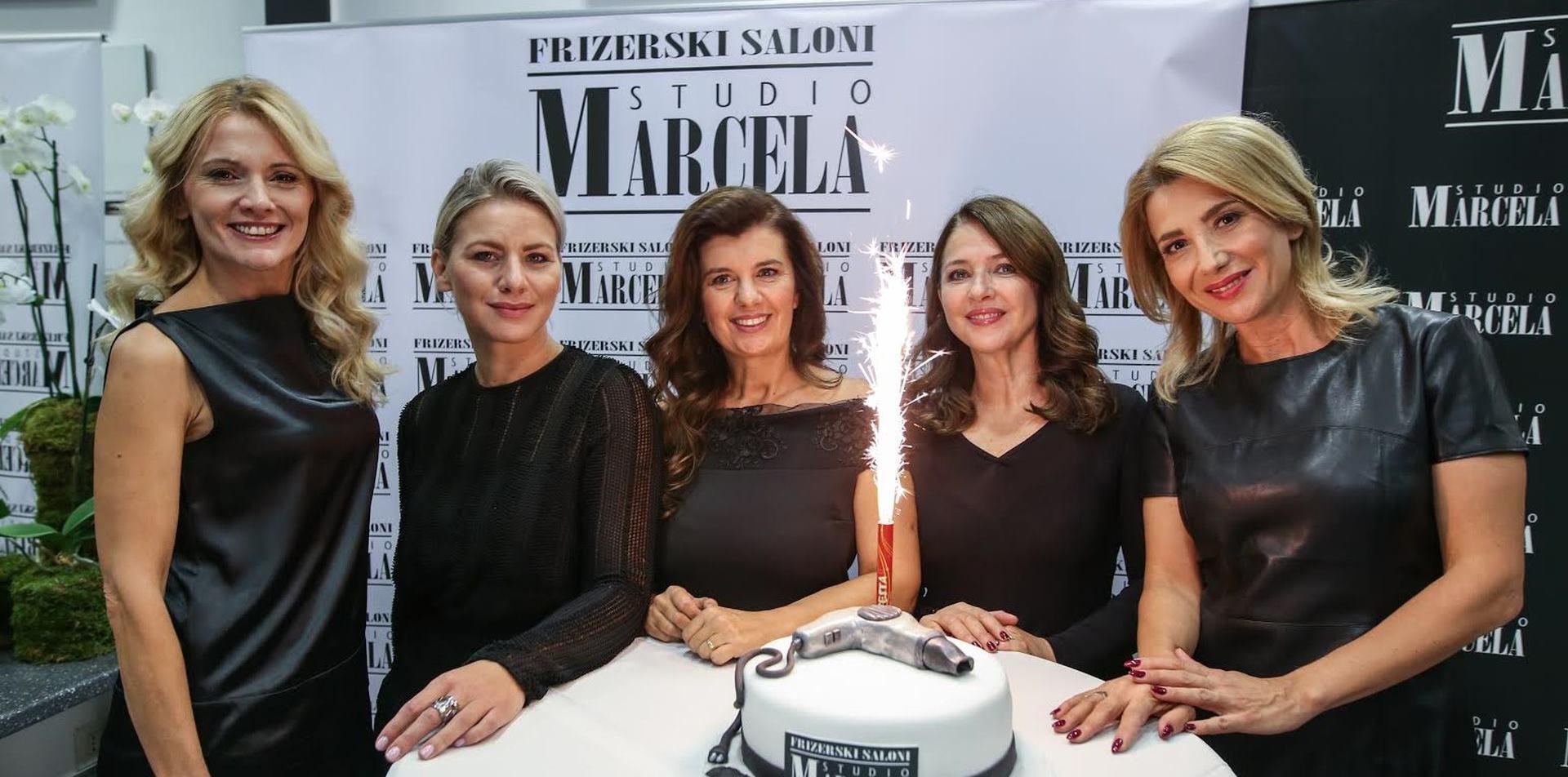 FOTO: Lanac frizerskih salona Studio Marcela proslavio rođendan