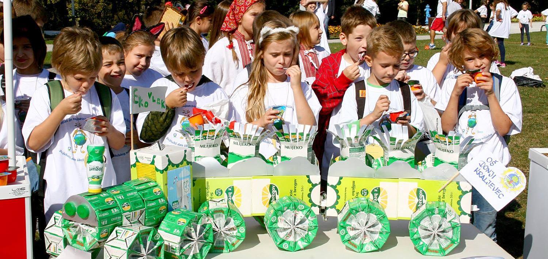 Vindija uz djecu obilježila Svijetski dan školskog mlijeka