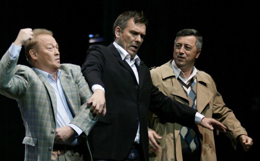 Sergej Kiselev, Slavko Sekulić i Robert Kolar