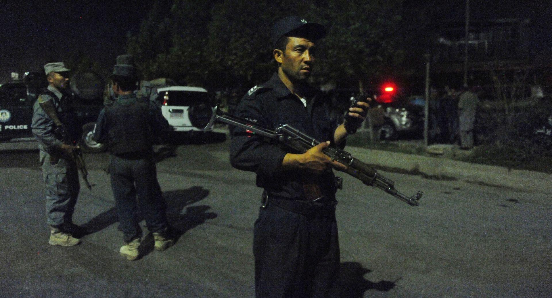 OKRŠAJ S TALIBANIMA: Osmorica afganistanskih policajaca poginula u američkom zračnom udaru