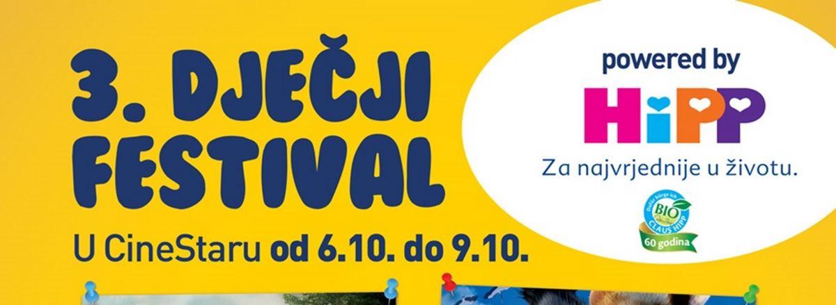 Nikad zabavniji 3. Dječji festival u CineStaru od 06. do 09. listopada!