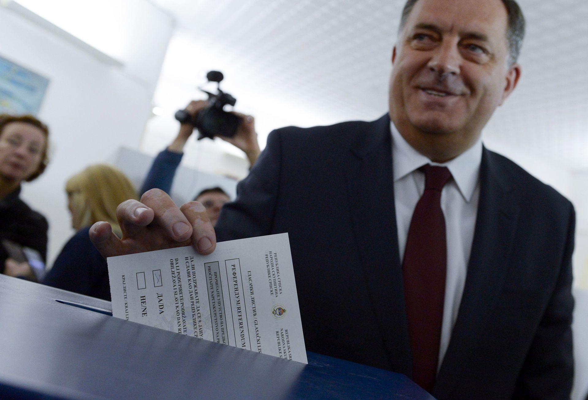 NEUSTAVNI REFERENDUM: Dodik će se odazvati na saslušanje, ali ne u Sarajevu