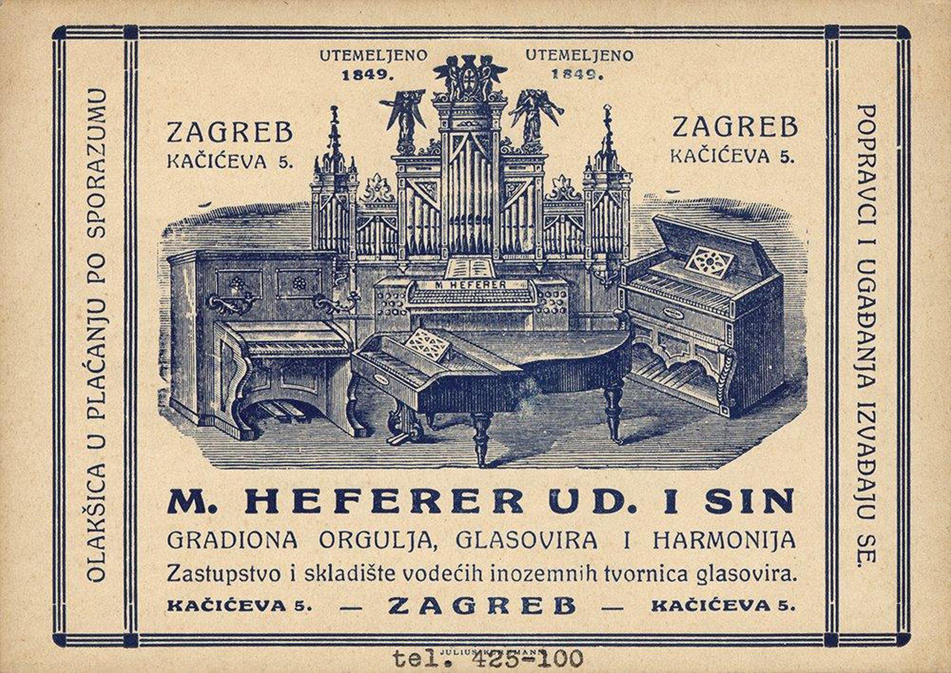 """""""ORGULJE HEFERER"""": Otvorena izložba, odaje priznanje i predstavlja djela obitelji Heferer"""