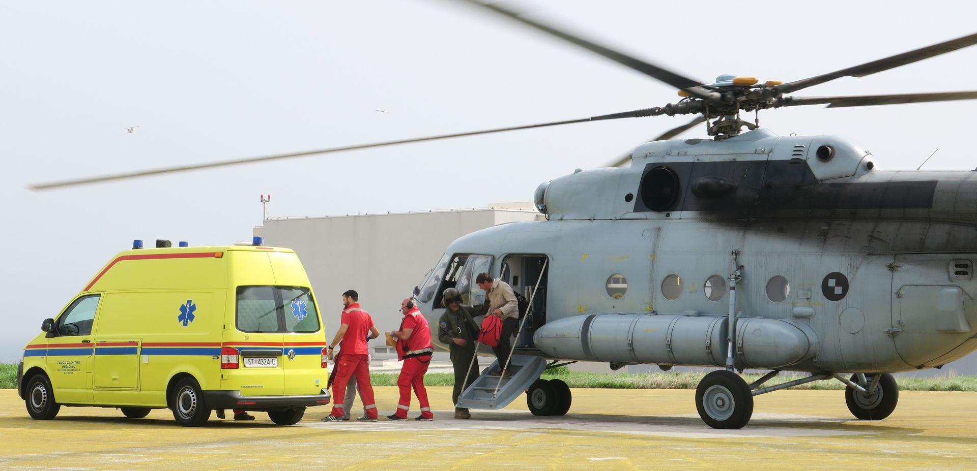 KRK Helikopterski tim HRZ-a u pet mjeseci prevezao 200 pacijenata