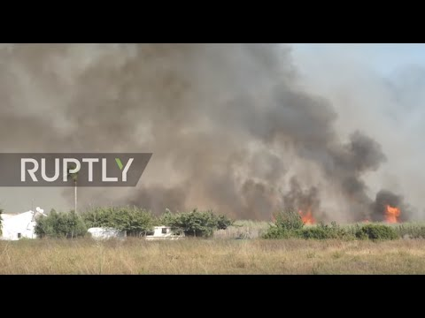 VIDEO: Veliki požar u španjolskoj Costa Blanci