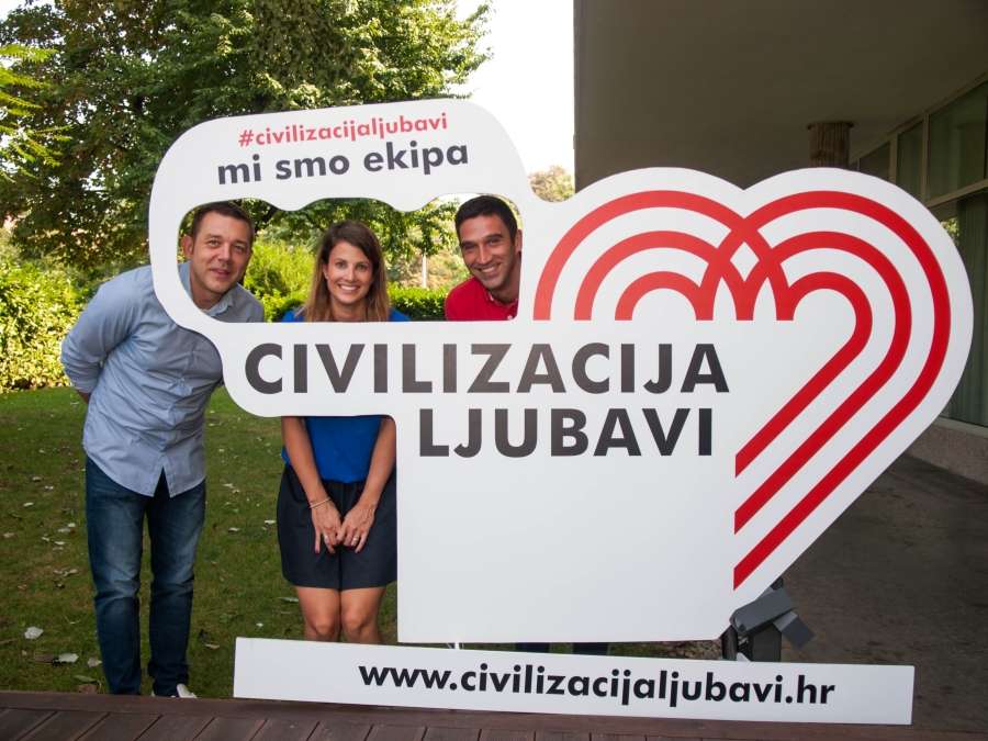 Domagoj Borščak, josip pavić, Hrvoje Kečkeš, ana Jelušić, civilizacija ljubavi