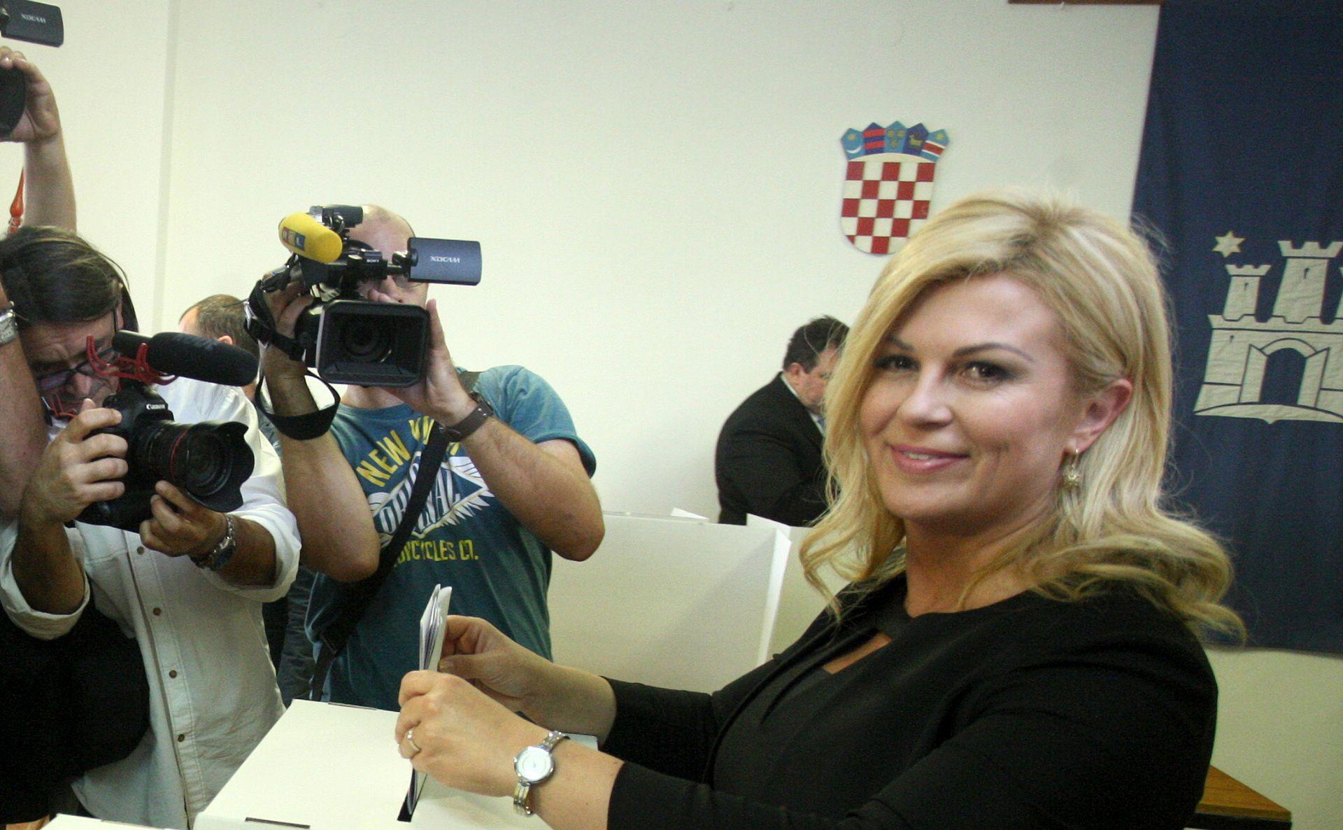 Predsjednica Grabar-Kitarović pozvala birače da izađu na izbore