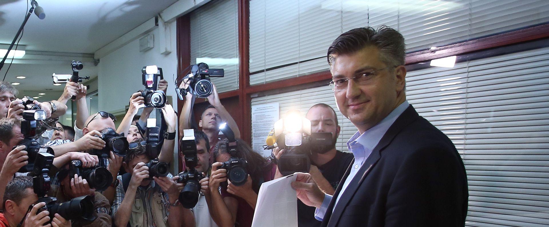 Plenković: Pozivam građane da izlaskom na izbore daju što snažniji legitimitet budućim zastupnicima