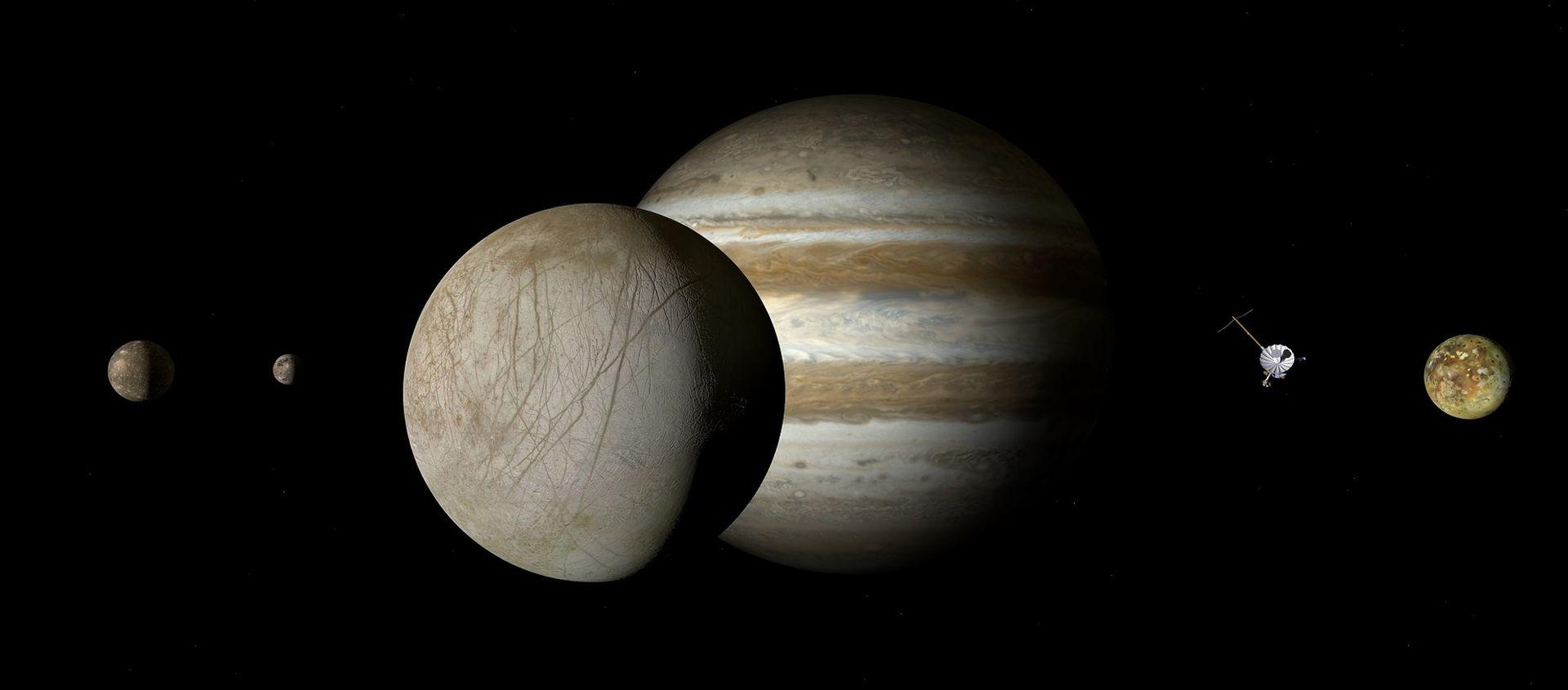 VIDEO: Hubble detektirao mlazove vodene pare na Jupiterovu mjesecu