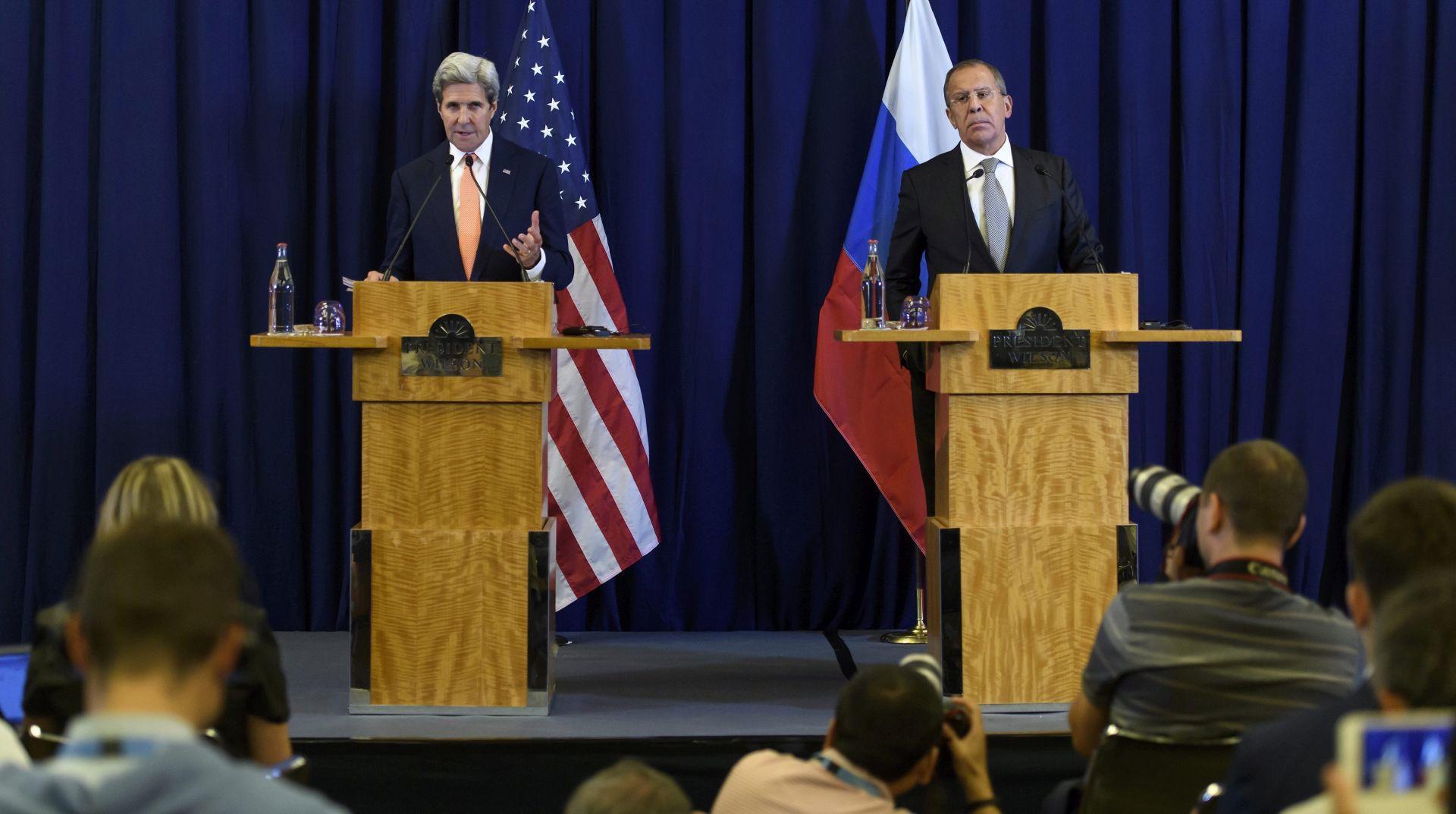 JOHN KERRY: Američko-ruski plan je možda posljednja prilika za spas Sirije