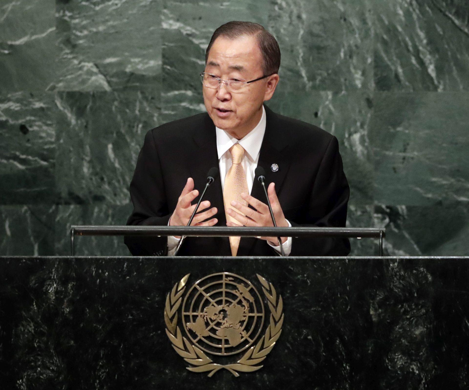 OPROŠTAJNI GOVOR Ban Ki-moon: 'Pozivam sve koji imaju utjecaja da okončaju sukob'