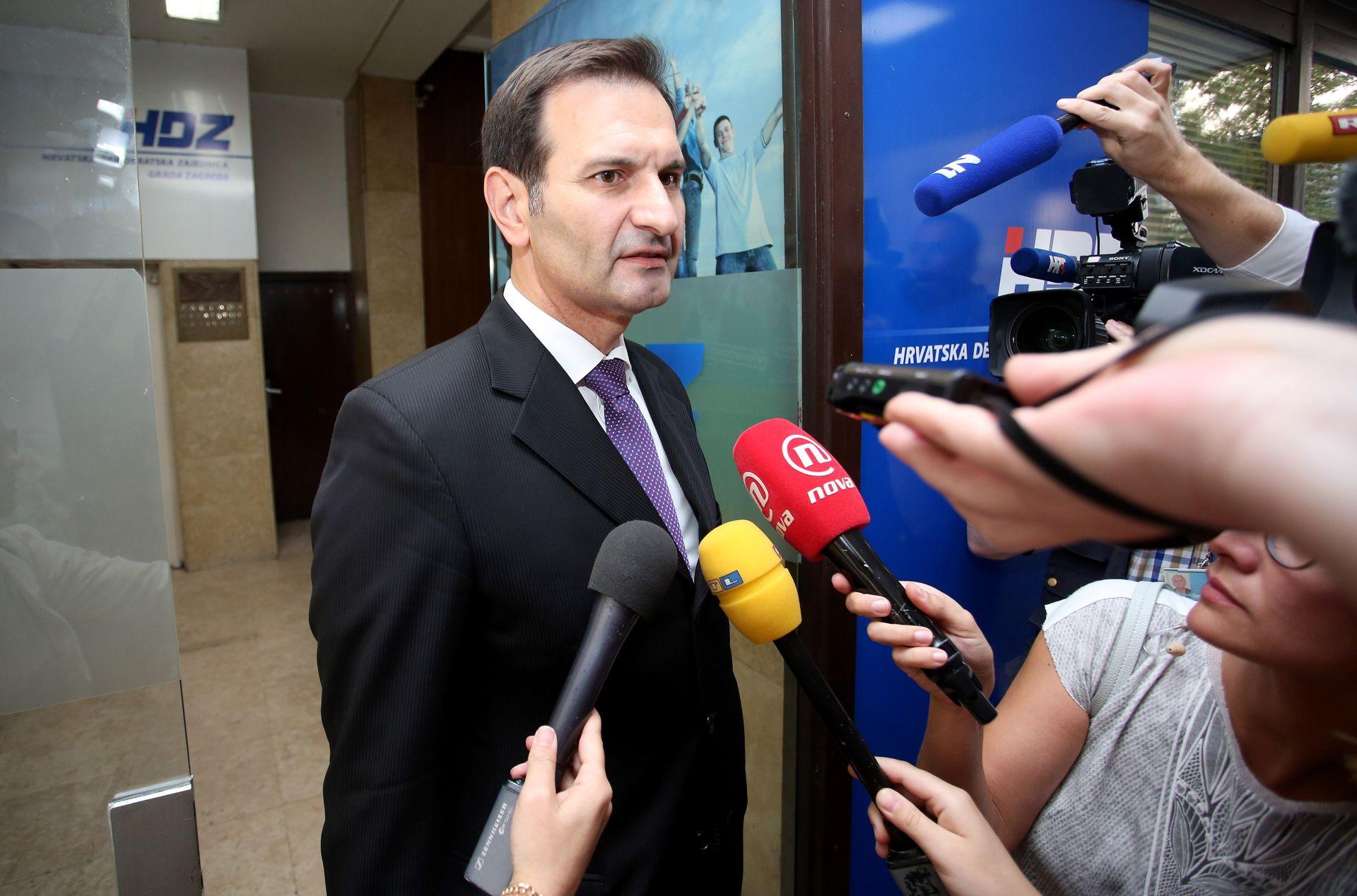 MINISTAR KOVAČ: Žao mi je što se Milanović tako ponaša kao predsjednik SDP-a