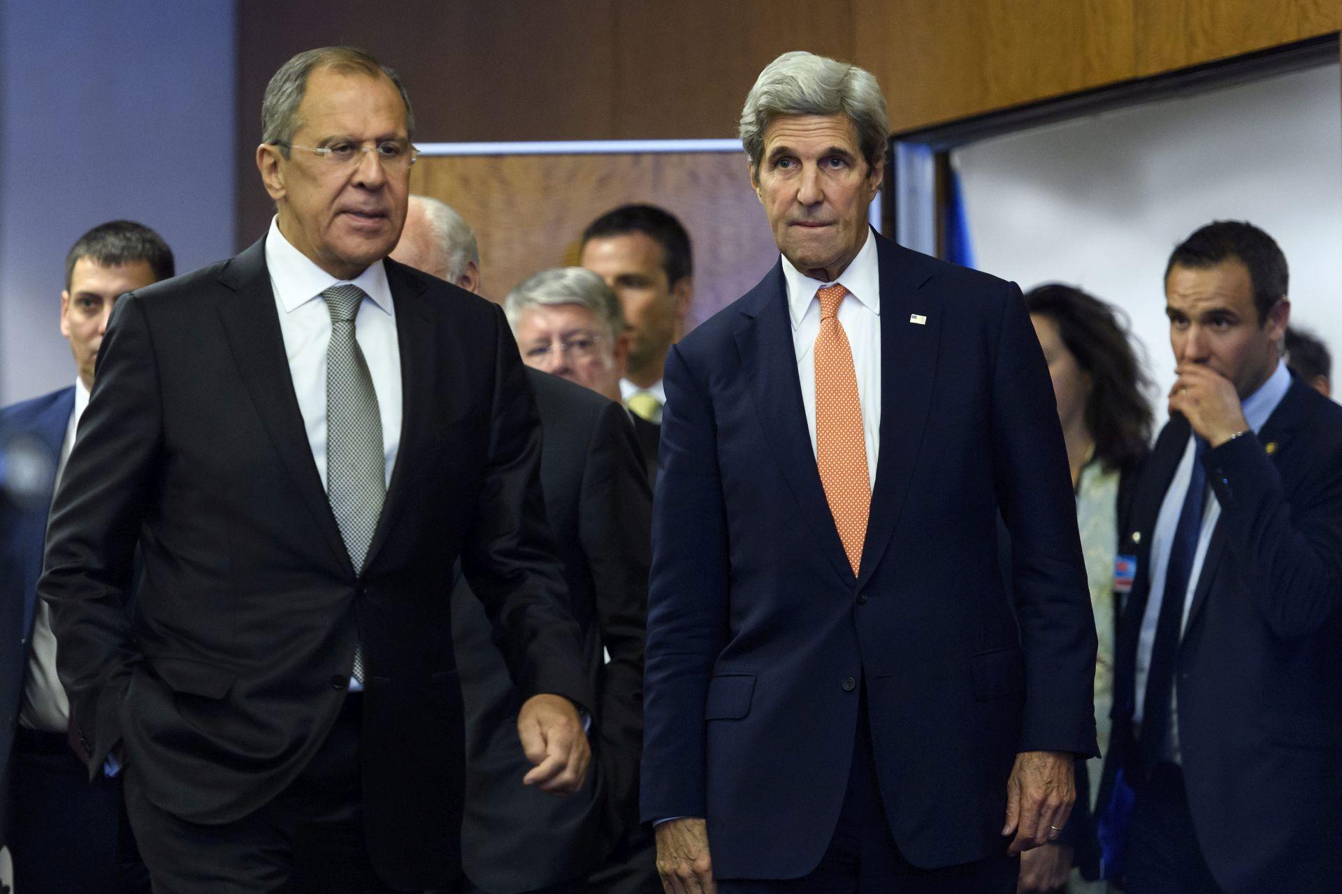 KRIZA U SIRIJI Kerry: 'Postigli smo mali napredak'