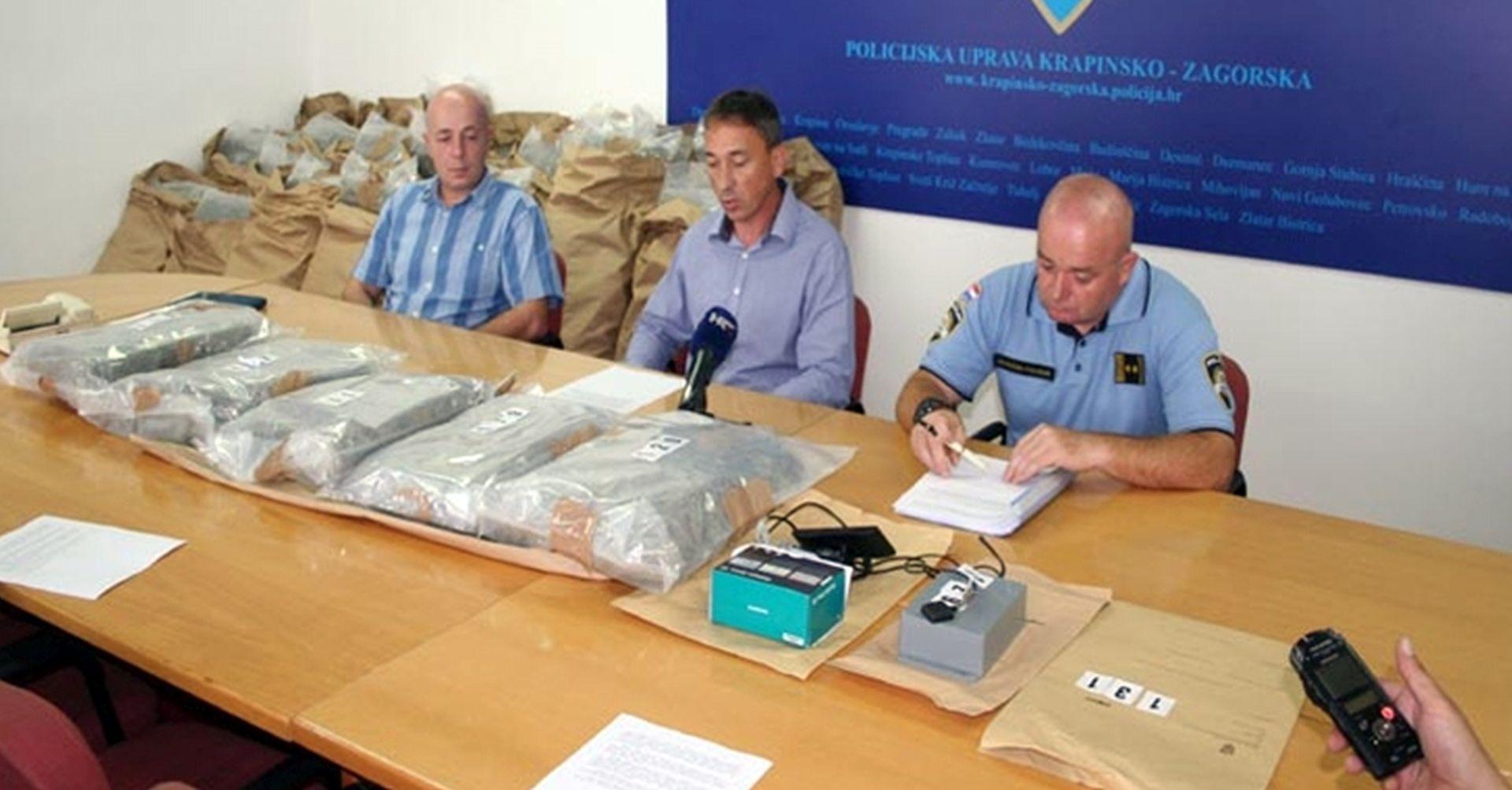 GRANIČNA POLICIJA: Na GP Macelj zapljenjeno više od 140 kilograma marihuane