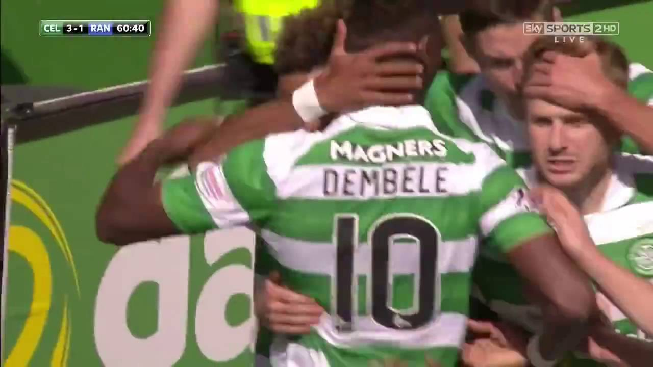 VIDEO: Celtic deklasirao Rangerse, hat trick Dembelea