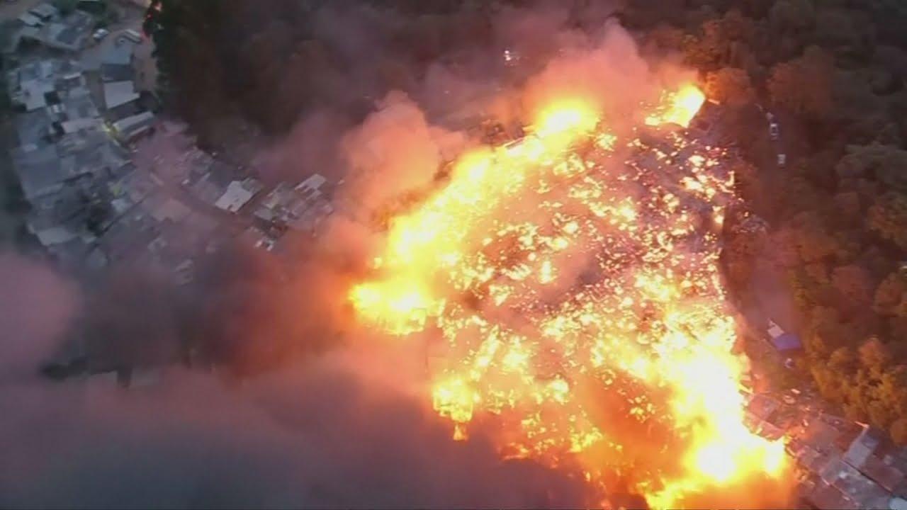 VIDEO: Veliki požar izbio u divljem naselju u São Paulu